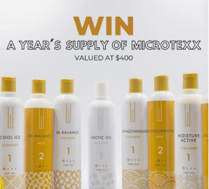 Microtexx – Win a Year supply of Custom Australian Haircare valued at $400