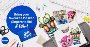 Network Ten – Big W Bring Your Favourite The Masked Singers to Life – Win 1 of 5 Big W WISH Gift Cards valued at $1,000 each