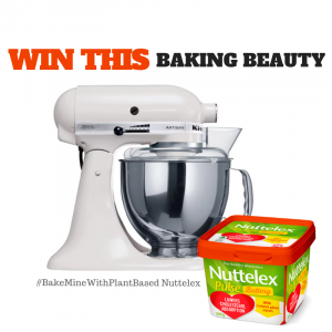 Nuttelex – Win 1 of 3 KitchenAid Artisan Stand Mixers