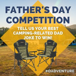 OZtrail Australia – Win 2 RV chairs for your Dad
