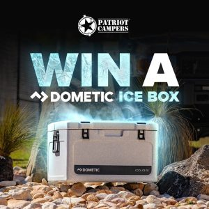 Patriot Campers – Win a 70L Ice Box