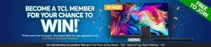 TCL Electronics – Win a Soundbar OR a TV