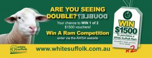 White Suffolk – Win 1 of 2 vouchers valued at $1,500 each