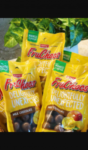 Adelady – Win The Ultimate Fruchoc Surprise From Us and Mr Fruchoc on Fruchoc Appreciation Day