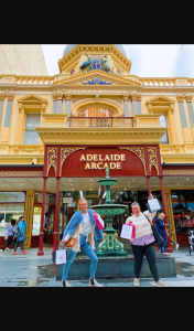 Adelady – Win The Ultimate Shopping Spree at Adelaide Arcade