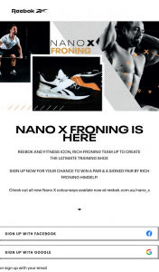 adidas – Win a Pair & a Signed Pair By Rich Froning Himself