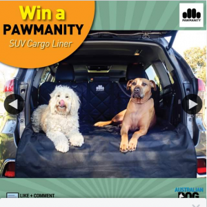Australian Dog Lover – Win a Fabulous Pawmanity Suv Liner for #fathersday2020 Worth $149. (prize valued at $149)