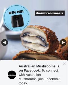Australian Mushrooms – Win a Philips Twin Turbostar Air Fryer
