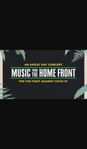 Australian Radio Network – Win a Music From The Home Front Limited Edition Prize Pack