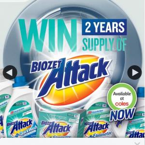 Biozet Attack – Win a 2-year Supply of Biozet Detergents
