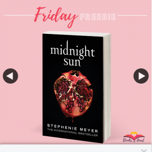 Books With Heart – Win 1 of 2 Copies of Midnight Sun By Stephenie Myer