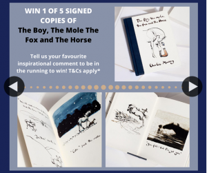 Booktopia – Win We Have Five Signed Copies of The Beautiful Book The Boy The Mole The Fox and The Horse By Charlie Mackesy to Giveaway
