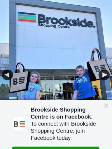 Brookside Shopping Centre – Win The Ultimate Brookside Showbag Must Collect (prize valued at $950)