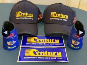 Century Batteries – Win a Century Batteries Supercars Pack