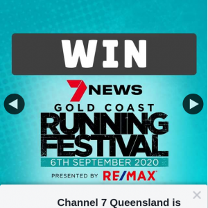 Channel 7 Qld – Win a Double Pass to The Upcoming 7news Gold Coast Gold Coast Running Festival (prize valued at $360)