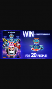 Channel 7 – Sunrise – Win a Private 20-person Screening of The Brand New Film for Your Child and All of Their Friends