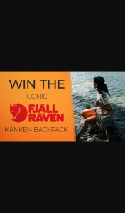 Channel 7 – Sunrise – Win Fjällräven's Best-Selling Kånken Backpack Valued at $144 In this Week's Edition of The Sunrise Family Newsletter