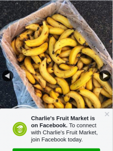 Charlie's Fruit Market Everton Park – Win a Box of Bananas Must Collect