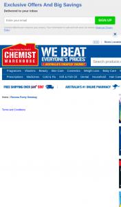 Chemist Warehouse – Rexona – Win The Ultimate 2021 Footy Weekend Getaway