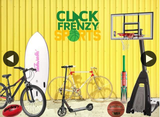 Click Frenzy Sports – Win $1000 Rebel Sport Voucher (prize valued at $1,000)