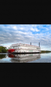 Cruise Passenger – Win an 8-night Cruise & Stay With The American Queen Steamboat Company