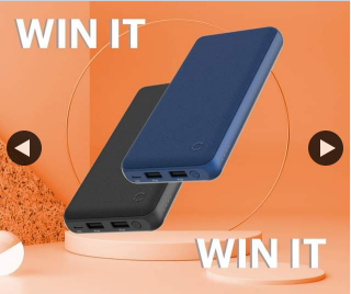 Cygnett – Win 1/2 Chargeup Compact 20k Power Banks 9pm (prize valued at $130)