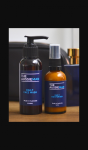 Female – Win a 2 Months Supply of Natural Men's Skincare From The Aussie Man Valued at $200.00. (prize valued at $200)
