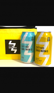 Female – Win One of 5 X Mixed Zytho Beer Packs With Cooler Bags Not Available In Stores Valued at $30 Each Including (prize valued at $30)
