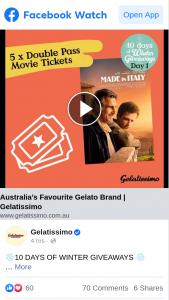 Gelatissimo – Win 10 Days of Winter Giveaways