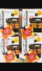 4 Ingredients – Win a Sunbeam Pie Maker & Signed Book