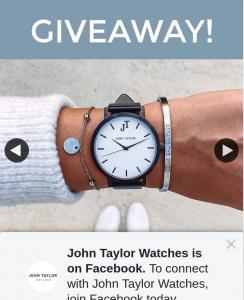 John Taylor Watches – Win Brunswick Timepiece