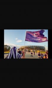 Mix 94.5 – Win Double Passes Fremantle Vs Gws Sat Aug 29
