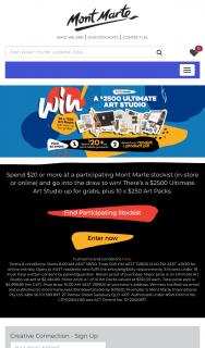 Mont Marte – Win $2500 Art Supplies Pack Plus R/u Prizes (prize valued at $2,494.8)