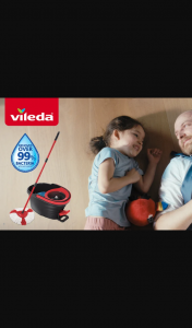 Mouths of Mums – Win a Vileda Easy Wring & Clean Turbo Mop Write Review