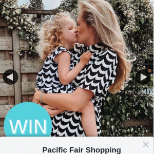 Pacific Fair Shopping Centre – Win a $200 Uniqlo Voucher for Their Limited Edition Marimekko Collection (prize valued at $200)