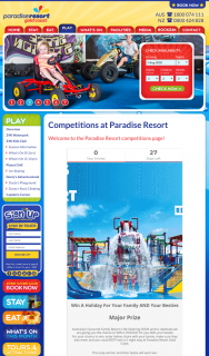 Paradise Resort Gold Coast – Win a Holiday for Your Family and Your Besties (prize valued at $2,020)