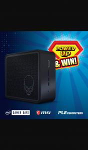 PLE Computers – Win a Ready to Go Intel Ghost Canyon I7 Nuc Worth Over $2700 (prize valued at $2,700)