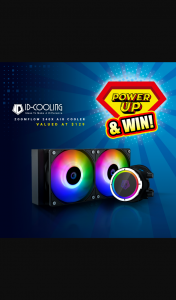PLE Computers – Win an Id-Cooling Zoomflow 240x A-Rgb Aio Cpu Liquid Cooler Worth $129 (prize valued at $129)