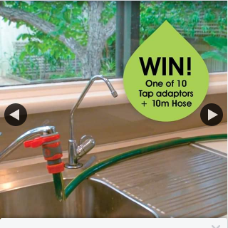 Pope Products – Win Post a Photo of Why You Need a Tap Adaptor Even If It's to Wash Your Furry Friends