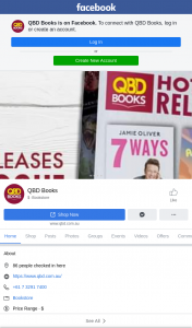 QBD Books – Just Tell Us