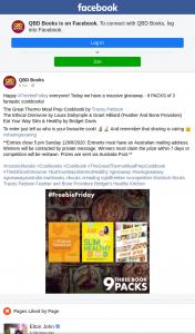 QBD Books – Win One of Nine Cookbook Prize Packs