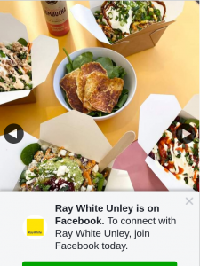 Ray White Unley – Win a $100 Voucher for Mr Potato Hyde Park (prize valued at $100)