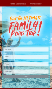 Repco – Win $5000 to Go Towards Making Your Dream Road Trip Come True (prize valued at $5,000)