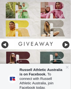 Russell Athletic Australia – Win a Set of Our Eagle R Range for Both You and a Friend (prize valued at $770)