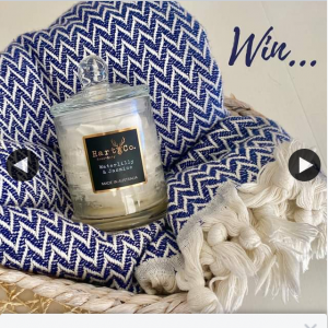 SAMMIMIS – Win Throw & Scented Candle