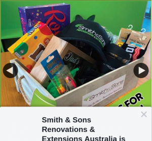 Smith & Sons Renovations & Extensions Australia – Win this Amazing Father's Day Hamper