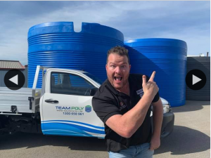 South Aussie With Cosi – Win a 50050 Litre Team Poly Rainwater Tank