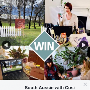 South Aussie With Cosi – Win a $100 Voucher to Spend at this Weekend's Gathered Virtual Design Market