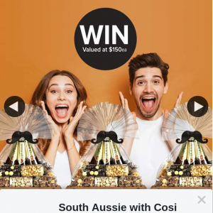 South Aussie With Cosi – Win One of Three Charlesworth Nuts Crates for Dad (prize valued at $3)