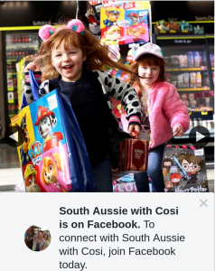 South Aussie With Cosi – Win Showbags Thanks to The Legends at Otr